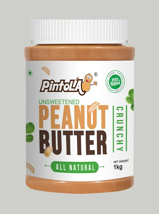Picture of Pintola All Natural Peanut Butter Crunchy Unsweetened 1kg