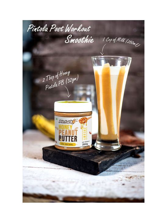 Picture of Pintola All Natural Honey Peanut Butter Creamy 350gm