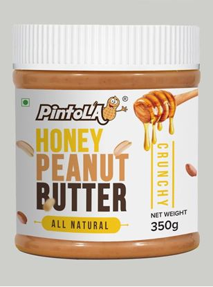 Picture of Pintola All Natural Honey Peanut Butter Crunchy 350gm