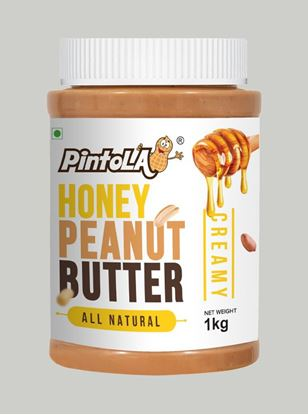 Picture of Pintola All Natural Honey Peanut Butter Creamy 1kg