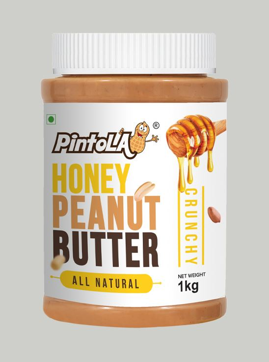 Picture of Pintola All Natural Honey Peanut Butter Crunchy 1kg