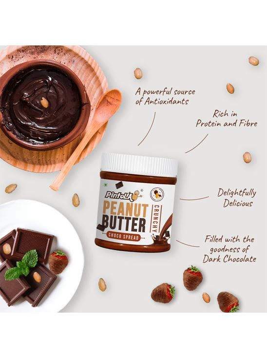 Picture of Pintola Choco Spread Peanut Butter Crunchy 350gm