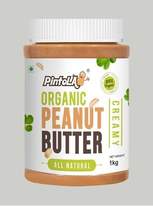 Picture of Pintola Organic All Natural Peanut Butter Creamy Unsweetened 1kg