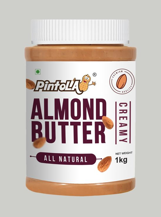 Picture of Pintola All Natural Almond Butter Creamy Unsweetened 1kg