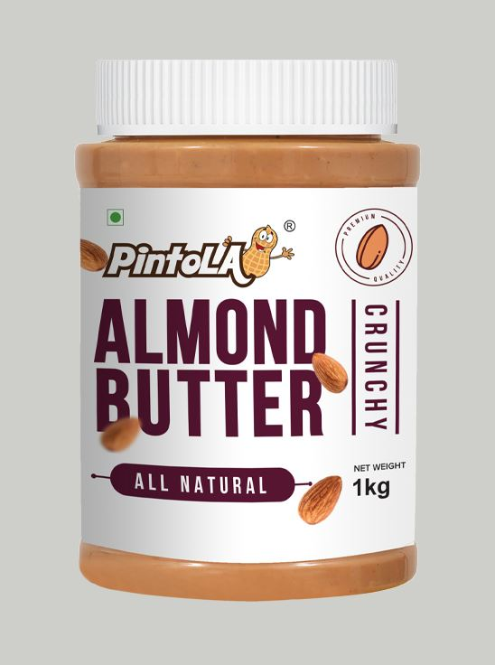 Picture of Pintola All Natural Almond Butter Crunchy Unsweetened 1kg