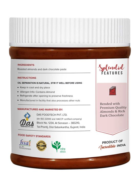 Picture of Pintola Almond Choco Butter Crunchy 350gm