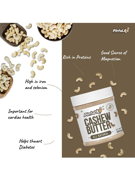 Picture of Pintola All Natural Cashew Butter Unsweetened 1kg