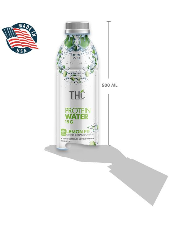 Picture of The Healthy Cup Protein Water Lemon Fit 500ml