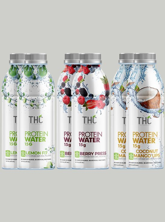 Picture of The Healthy Cup - Variety Pack (Berry Press , Coconut Mango , Lemon Fit) | 3000ml (Pack of 6)