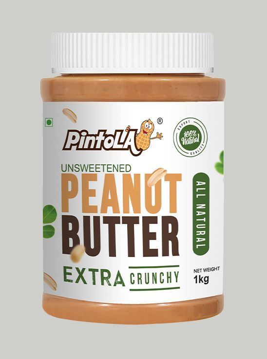 Picture of Pintola All Natural Extra Crunchy Peanut Butter Unsweetened 1kg