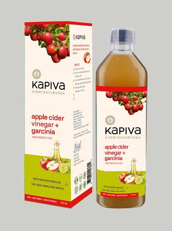 Picture of Kapiva Ayurveda Apple Cider + Garcinia 500 ml