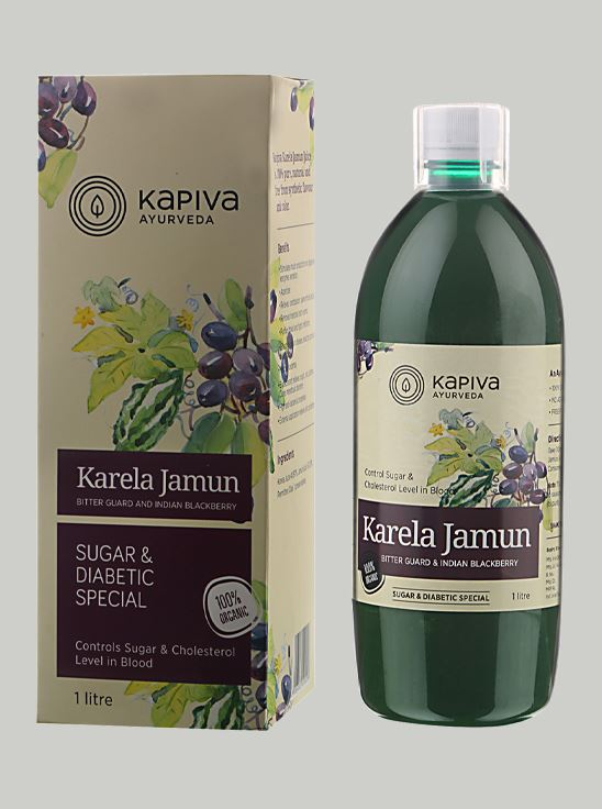 Picture of Kapiva Ayurveda Karela Jamun Juice 1 L