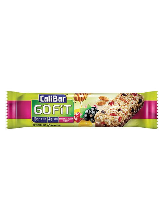Picture of CaliBar GoFit Protein Bar Berry Almond Crisp Pack of 6