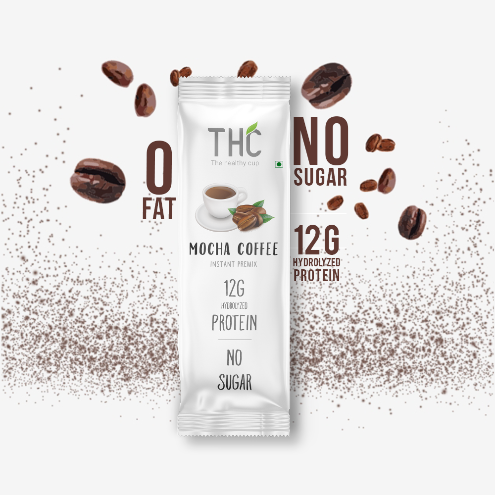 Picture of The Healthy Cup - Mocha Coffee ( 10 sachet) 200g