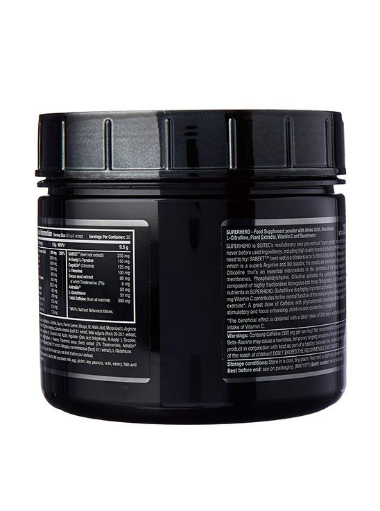 Picture of Scitec Superhero Pre-Workout Mango-Lime 285 g