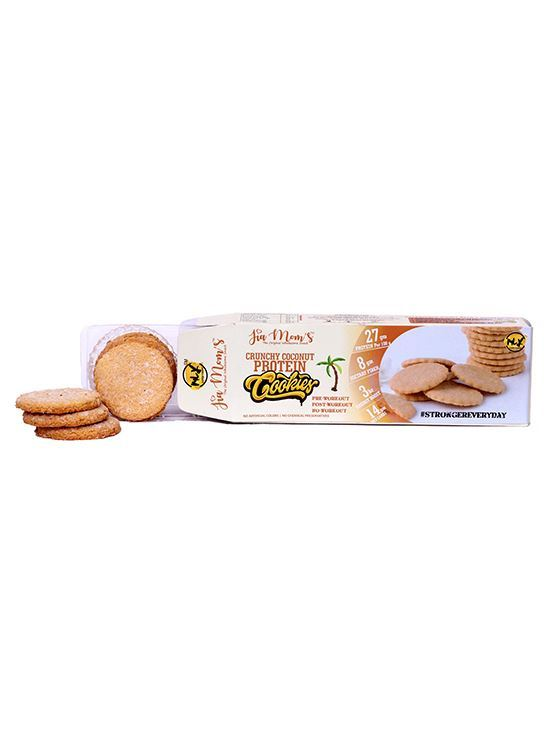 Picture of Jia Mom's Crunchy Coconut Protein Cookies 98g (Pack of 5)