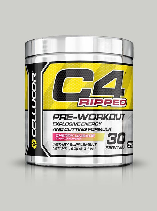 Cellucor C4 Ripped Pre-Workout Cherry Limeade 30 Serving GEN4