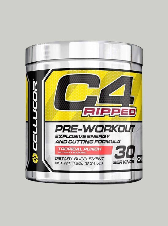 Cellucor C4 Ripped Pre-Workout Tropical Punch 30 Serving GEN4