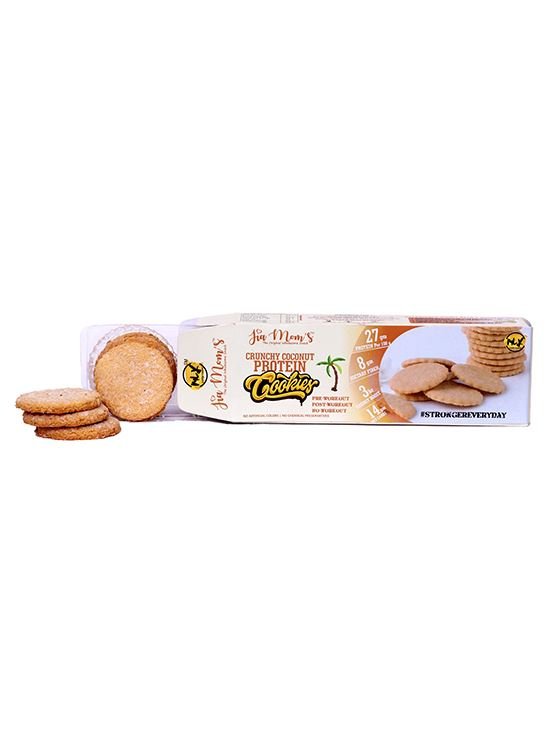 Picture of Jia Mom's Cookies Pack of 3 (Crunchy Coconut, Double Chocolate, Nuts and Seeds)