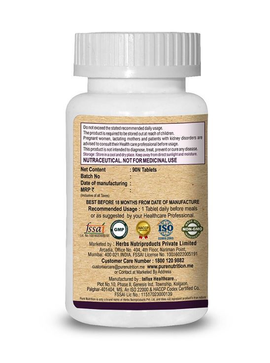 Picture of Pure Nutrition Biotin plus 10000 mcg Optimized dose 60 Caps