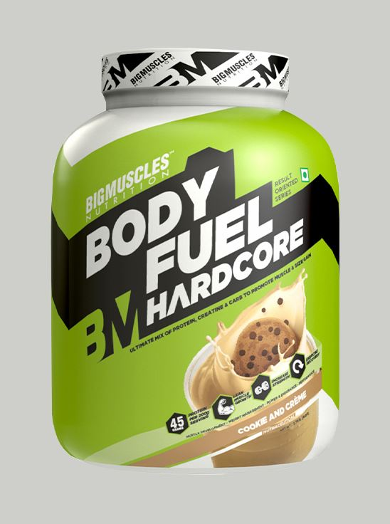 Picture of Bigmuscles Nutrition Bodyfuel Hardcore Cookie & Cream 6 lbs
