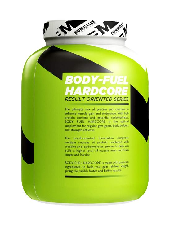 Picture of Bigmuscles Nutrition Body Fuel Hard Core Strawberry 6 lbs