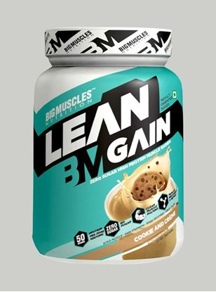 Picture of Bigmuscles Nutrition Lean Gain Cookie & Cream 2.2 lbs