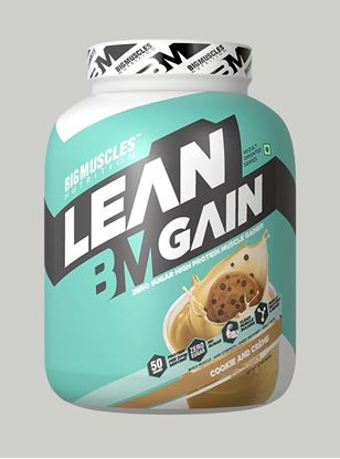 Picture of Bigmuscles Nutrition Lean Gain Cookie & Cream 6 lbs