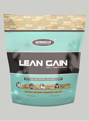 Picture of Bigmuscles Nutrition Lean Gain Cookie & Cream 11 lbs