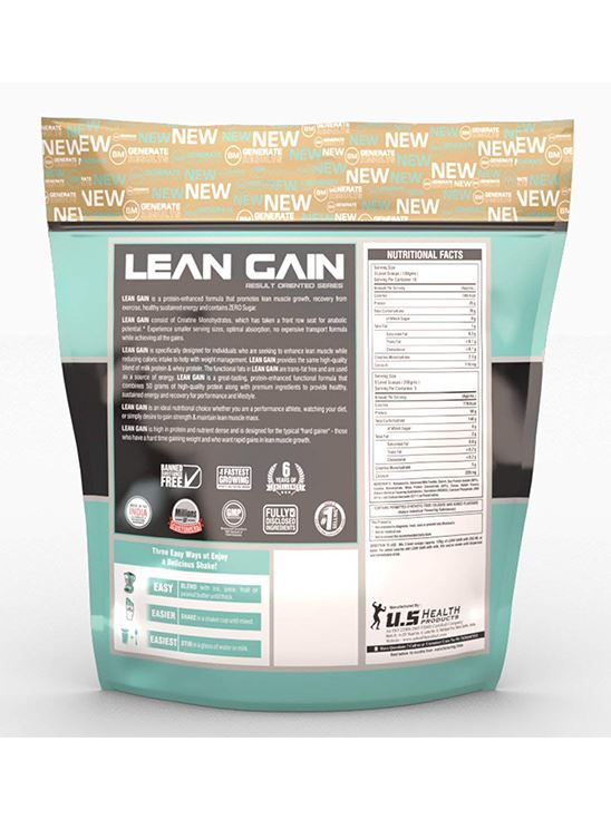 Picture of Bigmuscles Nutrition Lean Gain Strawberry 11 lbs