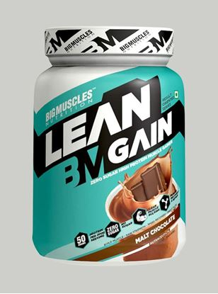 Picture of Bigmuscles Nutrition Lean Gain Malt Chocolate 2.2 lbs