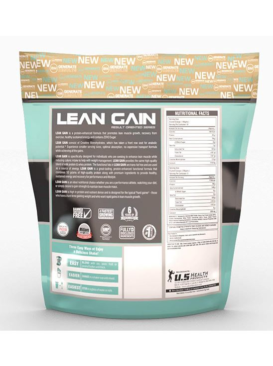 Picture of Bigmuscles Nutrition Lean Gain Malt Chocolate 11 lbs