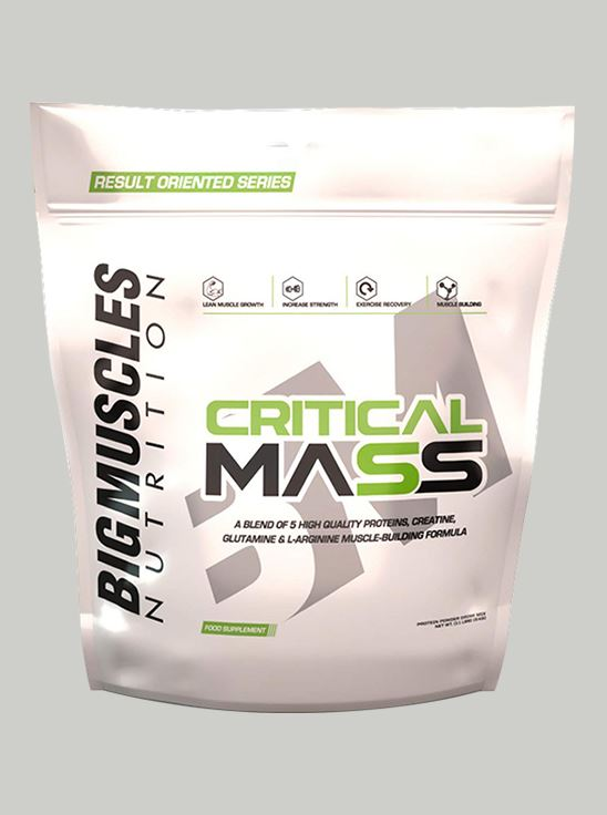 Picture of Bigmuscles Nutrition Critical Mass Cookie & Cream 11 lbs