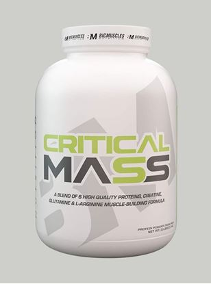 Picture of Bigmuscles Nutrition Critical Mass Strawberry 6 lbs