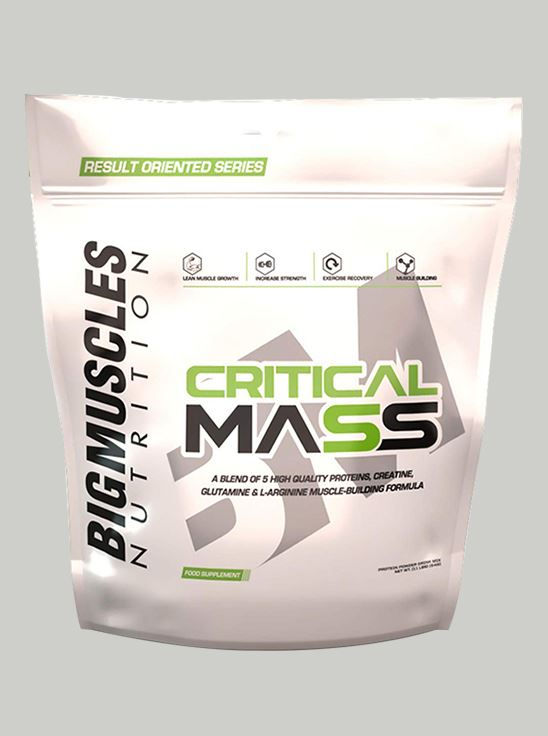 Picture of Bigmuscles Nutrition Critical Mass Strawberry 11 lbs