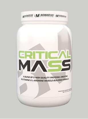 Picture of Bigmuscles Nutrition Critical Mass Malt Chocolate 2.2 lbs