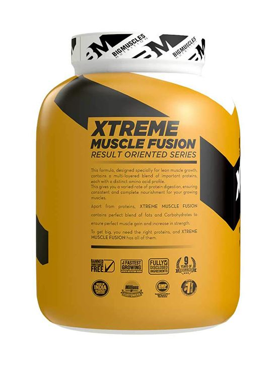 Picture of Bigmuscles Nutrition Xtreme Muscle Fusion Cookie & Cream 6 lbs