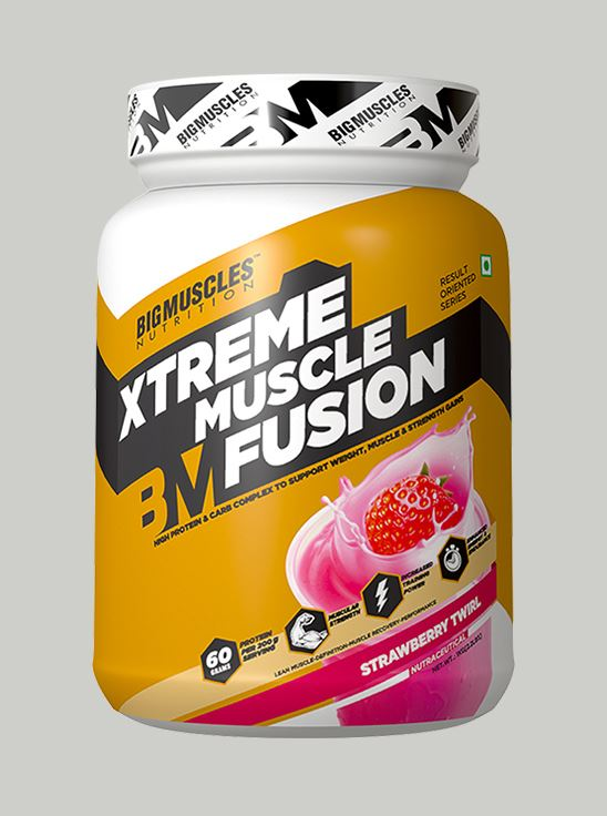 Picture of Bigmuscles Nutrition Xtreme Muscle Fusion Strawberry 2.2 lbs