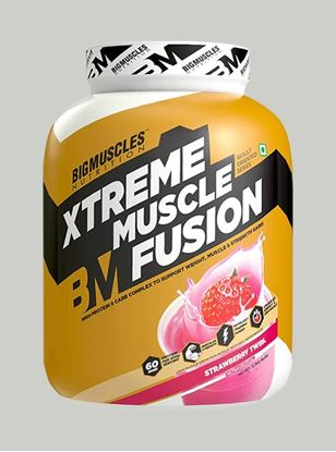 Picture of Bigmuscles Nutrition Xtreme Muscle Fusion Strawberry 6 lbs