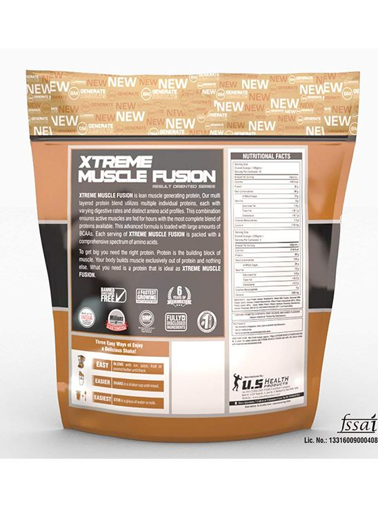 Picture of Bigmuscles Nutrition Xtreme Muscle Fusion Strawberry 11 lbs