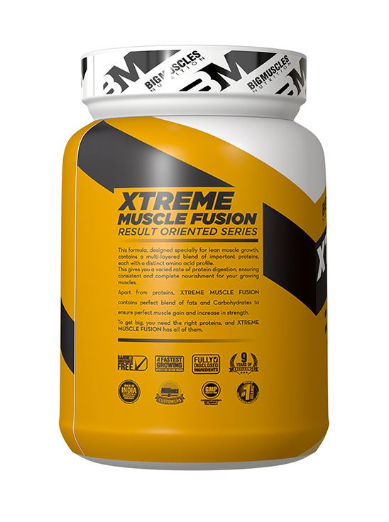 Picture of Bigmuscles Nutrition Xtreme Muscle Fusion Malt Chocolate 2.2 lbs