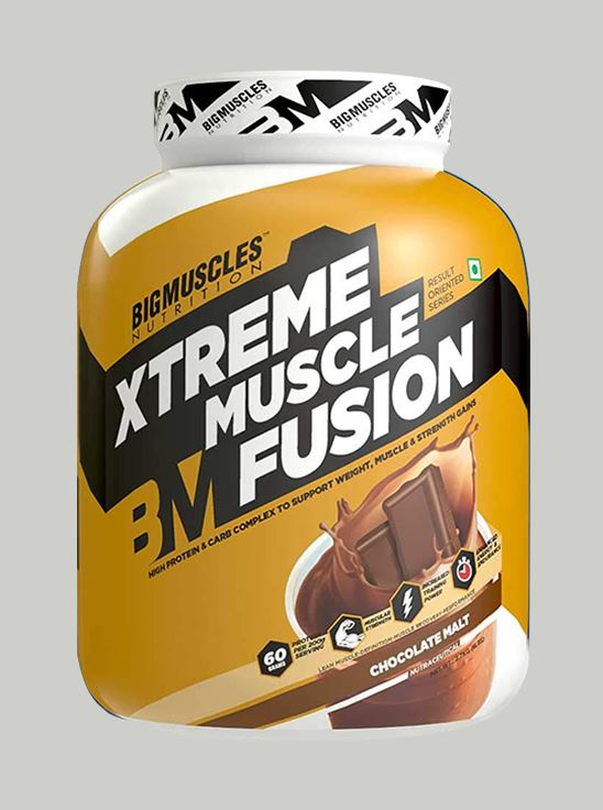 Picture of Bigmuscles Nutrition Xtreme Muscle Fusion Malt Chocolate 6 lbs