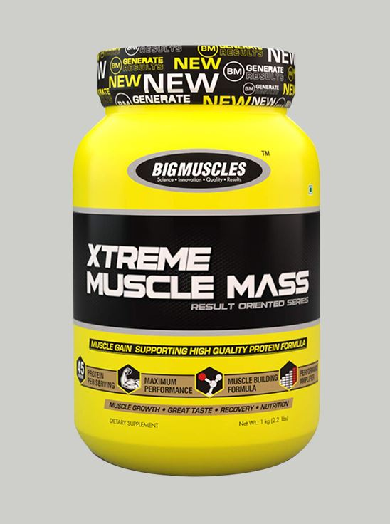 Picture of Bigmuscles Nutrition Xtreme Muscle Mass Cookie & Cream 2.2 lbs
