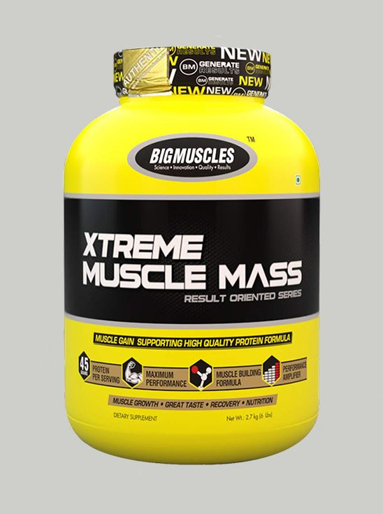 Picture of Bigmuscles Nutrition Xtreme Muscle Mass Cookie & Cream 6 lbs