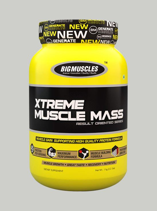 Picture of Bigmuscles Nutrition Xtreme Muscle Mass Strawberry 2.2 lbs