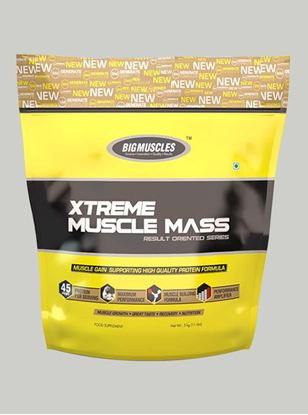 Picture of Bigmuscles Nutrition Xtreme Muscle Mass Strawberry 11 lbs
