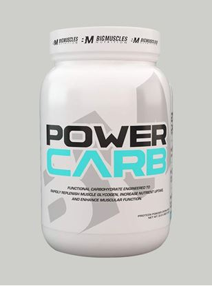 Picture of Bigmuscles Nutrition Power Carb Cookie & Cream 2.2 lbs