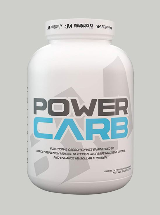 Picture of Bigmuscles Nutrition Power Carb Cookie & Cream 6 lbs