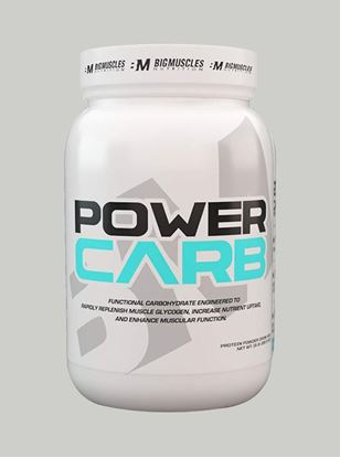 Picture of Bigmuscles Nutrition Power Carb Strawberry 2.2 lbs