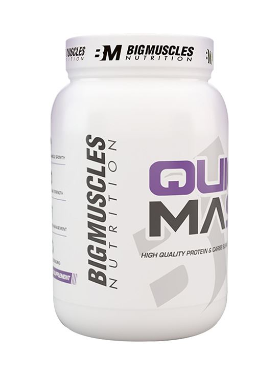 Picture of Bigmuscles Nutrition Quick Mass Cookie & Cream 2.2 lbs